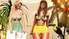 → ● 1515 ● ← (♕ Xaveco Mania - Jhess Yoshida ♕) Tags: navycopper supernatural blueberry amitieposes phoenix eclipse uber collabor88 hairfair treschic secondlifephotography secondlifeblog secondlife girl beach