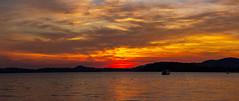 in Erwartung (Jörg Kage) Tags: beach water clouds strand sunrise thailand asien meer wolken kohsamui bophut sonnenaufgang canonlens canoneos700d eos700d