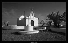 Lanzarote, infrared (Dierk Topp) Tags: a7r bw ilce7r ir sony1635mmvariotessartfef4zaoss architecture canaryislands churches infrared islascanarias lanzarote monochrom sw sony