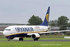 B737-8AS EI-EVV RYANAIR special marks (shanairpic) Tags: jetairliner passengerjet b737 boeing737 shannon irish ryanair specialmarks eievv