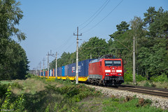 189 057-3 (fzadam97) Tags: 189 057 3 zbąszyń kontenery chlastawa e20 d29 eurosprinter es64f4 e189 db cargo plastik