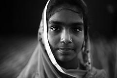 Portrait Of A Servant (N A Y E E M) Tags: girl younglady servant portrait wedding night monami guest availablelight indoors radissonblu hotel chittagong bangladesh sooc raw unedited untouched
