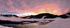 Atardecer en Pulul (Mono Andes) Tags: chile andes chilecentral panorama ski atardecer invierno skitour esquí randonné regióndelaaraucanía valledepulul pulul