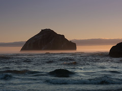 Face Rock (jpeder55) Tags: bandon oregon coast beach surf ocean fog sunset photographyworkshop johnpedersenphoto jackgrahamphoto