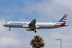 American Airlines Airbus A321 N576UW (jbp274) Tags: lax klax airport airplanes americanairlines american aa airbus a321