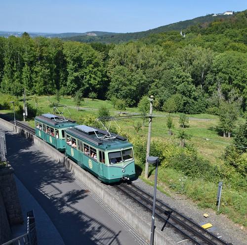 Drachenfelsbahn Tussenstation Schloss Drachenburg