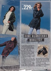 Journey into the past (betrenchcoated) Tags: trenchcoat trench raincoat regenmantel regenjacke mantel kurzmantel jacket jacke lackmantel lackjacke patentcoat pu 90s scans vintage