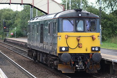 HOLYTOWN 73970 (johnwebb292) Tags: holytown motherwell diesel class 73 73970 caledoniansleepers