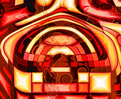 where the great magician lives (j.p.yef) Tags: peterfey jpyef yef digitalart abstract abstrakt red yellow