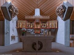 St.Nikolaus Schluchsee: Blick auf den Altar (J.Weyerhäuser) Tags: altar breitnau schluchsee stblasien