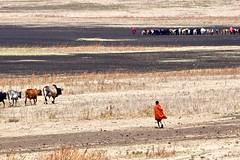 Tanzania (Silvia Sagone) Tags: tanzania africa people landscape ngorongoro