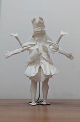 Asura (Lê Huỳnh Đức) Tags: origami art paper papersculpture paperart buddhism religion asura