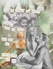 Sullen Girl (JillDominique) Tags: fiona apple jillian dominique collage