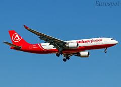 TC-AGF Airbus A330 Atlas Global (@Eurospot) Tags: ltai antalya atlasglobal tcagf airbus a330 a330200 apbml phaol