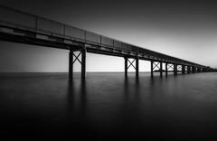 BW (danielghetu.dg) Tags: blackwhite blackwhitephotos bridge water sony sky sunrise sea sunlight longexposure landscape cyprus