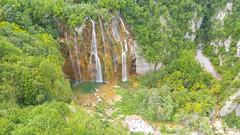Der große Wasserfall (Veliki Slap) im Nationalpark Plitvicer Seen, Kroatien