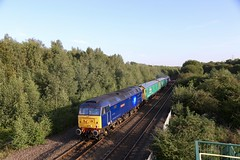 47815/3 Beighton Jn 23 Aug 19 (doughnut14) Tags: 47813 47815 jackfrost lostboys beighton rail diesel loco cum arlington barrier rog holbeck leicester midland 0ldroad