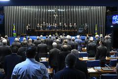 Plenário do Congresso (Senado Federal) Tags: plenário sessãosolene diadomaçombrasileiro comemoração reginaldogusmãodealbuquerque cassianoteixeirademoraes hamiltonmourão senadorizalcipsdbdf deputadogeneralgirãopslrn múciobonifácioguimarães ademirlúcioamorim armandoassumpção hinonacional libras intérprete brasília df brasil
