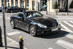 Poland (Gdansk) - Mercedes-Benz SLK 55 AMG R171 (PrincepsLS) Tags: poland polish license plate warsaw spotting gd gdansk mercedesbenz slk 55 amg r171