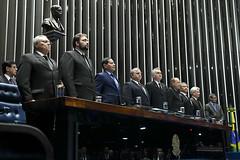 Plenário do Congresso (Senado Federal) Tags: plenário sessãosolene diadomaçombrasileiro comemoração reginaldogusmãodealbuquerque cassianoteixeirademoraes hamiltonmourão senadorizalcipsdbdf deputadogeneralgirãopslrn múciobonifácioguimarães ademirlúcioamorim armandoassumpção hinonacional brasília df brasil