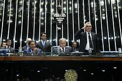 Plenário do Congresso (Senado Federal) Tags: plenário sessãosolene diadomaçombrasileiro comemoração hamiltonmourão senadorizalcipsdbdf deputadogeneralgirãopslrn brasília df brasil