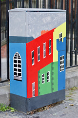 Arty Cabinet (gerrymccabe) Tags: arty artistic street art colours spectacular vivid dublin ireland