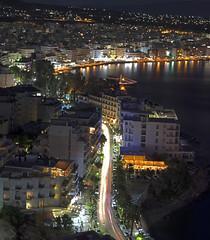 Loutraki, Greece (man_sid11) Tags: tokinaatx90mmf25macro landscape panorama loutraki corinth night city lights longexposure