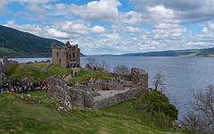 Urquhart Castle (San Francisco Gal) Tags: urquhartcastle lochness scottishhighlands sly cloud ruin scotland