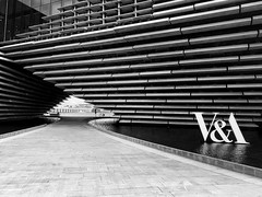 """V&A Dundee (Ruaraidh80) Tags: building lines architecture scotland dundee va iphone """"blackandwhite"""" iphonography blackandwhite"""