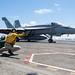 Flight operation in East China Sea aboard USS Ronald Reagan