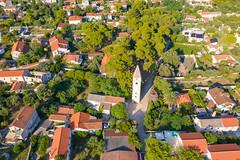 Bell tower in Silba, Croatia