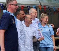 Chefs Michael Caines, Simon Woods and Mike Harrison at Bolton Food Festival 2019 (Tony Worrall) Tags: welovethenorth nw northwest north update place location uk england visit area attraction open stream tour country item greatbritain britain english british gb capture buy stock sell sale outside outdoors caught photo shoot shot picture captured ilobsterit instragram bolton boltonfoodfestival chef cook publicity photos group gin chefmichaelcaines simonwoods mikeharrison boltonfoodfestival2019