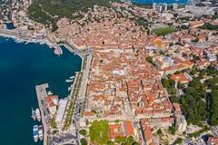 Historic center of Split in Croatia
