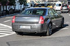 Poland (Ciechanow) - Chrysler 300C SRT-8 (PrincepsLS) Tags: poland polish license plate warsaw spotting wci ciechanow chrysler 300c srt8