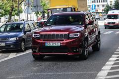 Poland (Bielsko-Biala) - Jeep GrandCherokee SRT 2017 (PrincepsLS) Tags: poland polish license plate warsaw spotting sb bielsko biala jeep grandcherokee srt 2017