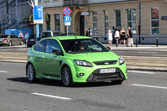 Poland (Gdansk) - Ford Focus RS 2009 (PrincepsLS) Tags: poland polish license plate warsaw spotting gd gdank ford focus rs 2009