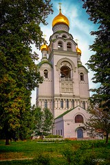 _MG_0472 (Mikhail Lukyanov) Tags: russia moscow religion christianity orthodoxy oldbelievers temple church belltower bell dome cross summer outside