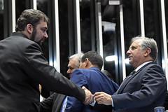 Plenário do Congresso (Senado Federal) Tags: plenário sessãosolene diadomaçombrasileiro comemoração cassianoteixeirademoraes hamiltonmourão senadorizalcipsdbdf deputadogeneralgirãopslrn cumprimentos brasília df brasil