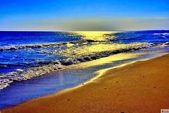 Atardecer en una playa salvaje de Huelva. (In Dulce Jubilo) Tags: landscape photography paisaje panorámica panoramic beach playa arena azul blue mar ocean océano atlantic atlántico olas waves sea fotografía atardecer sunset sun andalucia andalusia sur huelva viaje travel naturaleza nature espagne españa