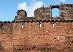 Penrith Castle (.annajane) Tags: cumbria castle penrith ruin uk medieval englishheritage brick wall