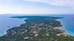 Blick auf die Insel von Silba in Kroatien