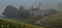 Lodge (pygarian_nox) Tags: chatsworth blue derbyshire mist estate lodge