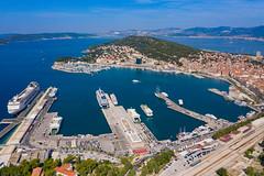 Port of Split in Croatia