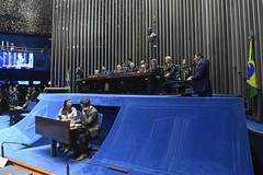 Plenário do Congresso (Senado Federal) Tags: plenário sessãosolene diadomaçombrasileiro comemoração reginaldogusmãodealbuquerque cassianoteixeirademoraes hamiltonmourão senadorizalcipsdbdf deputadogeneralgirãopslrn múciobonifácioguimarães ademirlúcioamorim armandoassumpção senadornelsinhotradpsdms carpetedesenhado taquígrafo taquigrafia brasília df brasil