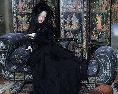 Miss Margo Muldoon (stashraider) Tags: pashapasha pulse original size megfashiondoll wig outfit phantomdolls phantom creations