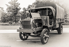 1918 Standardized Class-B Military Truck- 'Nancy' (Jim Frazier) Tags: bw army antique nancy 1918 2019 militaryvehiclepreservationassociation 2019cantigny 20190820cantignymvpa standardizedclassbmilitarytruck blackandwhite detail heritage history classic cars cloudy dupage august historic il equipment historical desaturated documentation classiccars automobiles devices cantigny diagonals carshows dupagecounty cantignypark old summer monochrome sepia triangles vintage illinois mechanical steel military parks overcast patriotic machinery vehicles study transportation record shows trucks marines machines patriotism q3 mvpa oldified libertytruck jimfraziercom ruleofspace loadcode201908 sizeover1000 wheaton jfpblog fastpictures f10