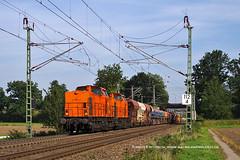 BBL 08 und BBL 09 (Ingo...) Tags: bremen mahndorf privat bahn bauzug schotterzug bbl 08 09 202 324 610 kbs 380 v 100 ex dr deutschland