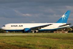 OY-SRI_01 (GH@BHD) Tags: oysrg boeing 767 76f 767200 76725e bdsf b767 b762 starair bfs egaa aldergrove belfastinternationalairport freighter cargo aircraft aviation airliner