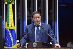 Plenário do Congresso (Senado Federal) Tags: plenário sessãosolene diadomaçombrasileiro comemoração hamiltonmourão bandeiranacional brasília df brasil