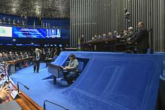 Plenário do Congresso (Senado Federal) Tags: plenário sessãosolene diadomaçombrasileiro comemoração reginaldogusmãodealbuquerque cassianoteixeirademoraes hamiltonmourão senadorizalcipsdbdf deputadogeneralgirãopslrn múciobonifácioguimarães ademirlúcioamorim armandoassumpção paineleletrônico carpetedesenhado brasília df brasil